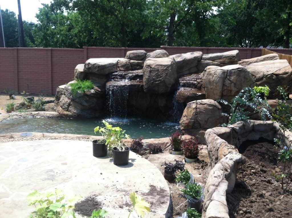 When the main construction is complete, we finish off by adding landscape that complements the area and is more appealing to the eye. We at Rock-Scapes… DO IT ALL! Colleyville, TX